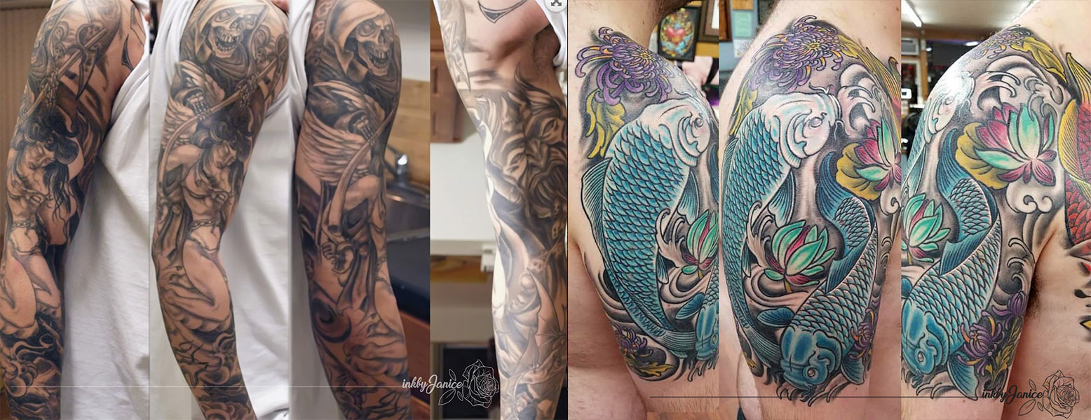 Read more about the article How to Get a Sleeve Tattoo
